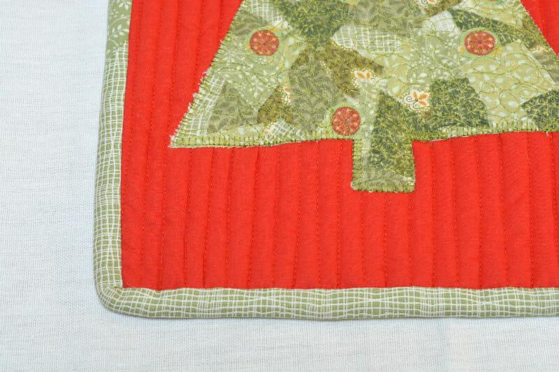 Close up of scrappy mat