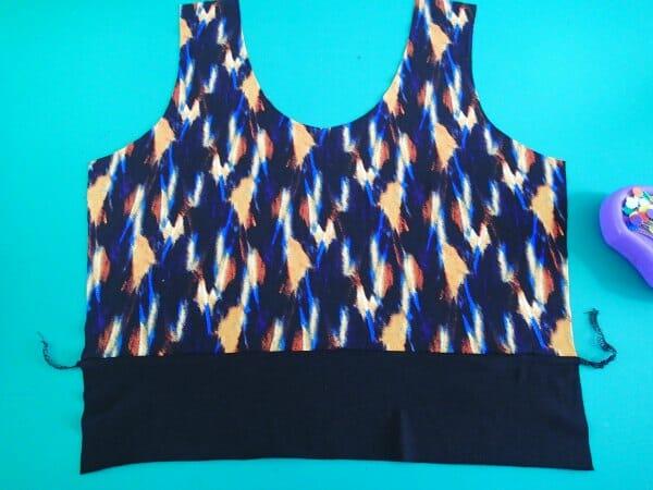 graffiti dress pattern