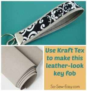 Kraft Tex key fob featured
