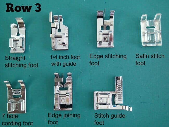 More Presser Feet Than You Will Ever Need So Sew Easy Gorgeous Types Of Sewing Machine Feet