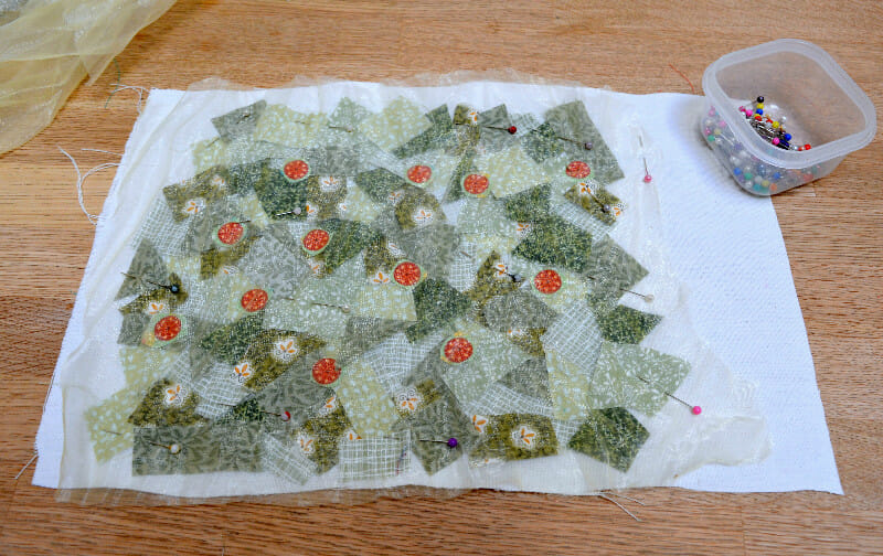 Scrappy Fabric Christmas Trees