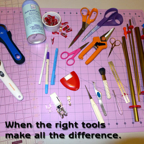 Essential sewing tools. All the items you NEED for your sewing room, some more obvious than others.