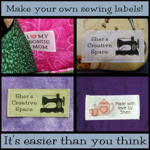 Yes! You CAN make professional looking custom sewing labels!