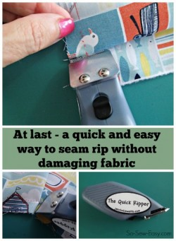 For anyone with manual dexterity problems, or anyone with a lot of seam ripping to do, this electric seam ripper is the answer!