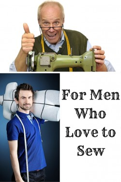 men who love to sew