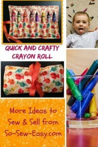 Crafty Crayon Roll