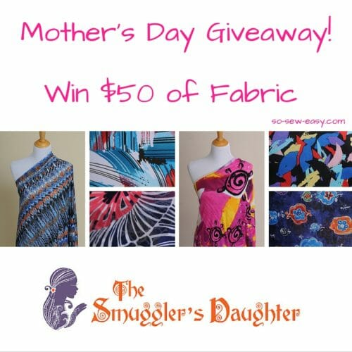 mothers day fabric giveaway