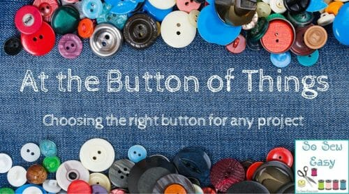 at the button of things