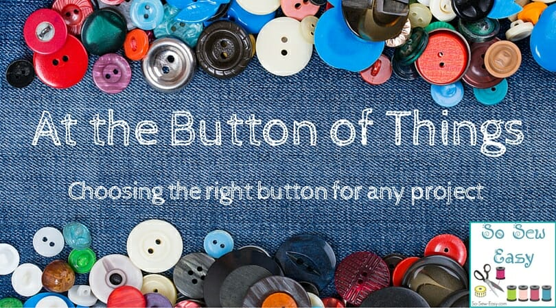 choose the right buttons