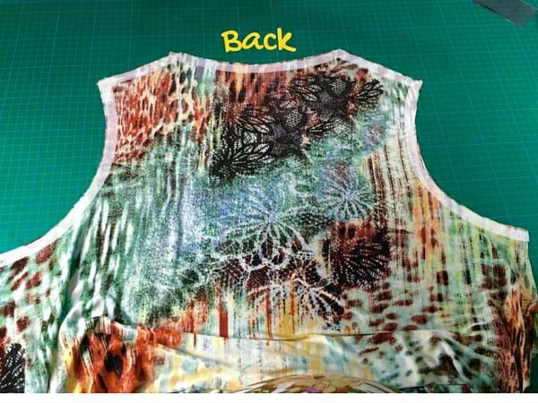 free flare t-shirt pattern