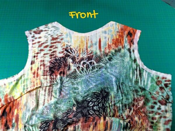 free flared t-shirt pattern