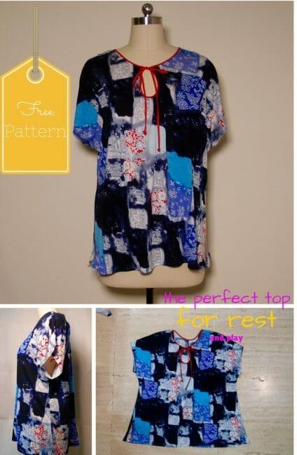 Free easy t-shirt pattern