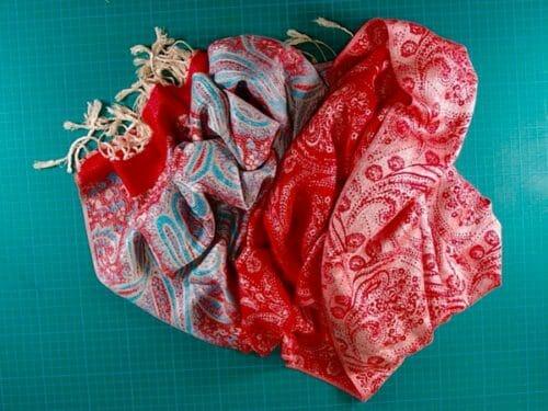 scarf refashioned