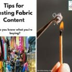 testing fabric content