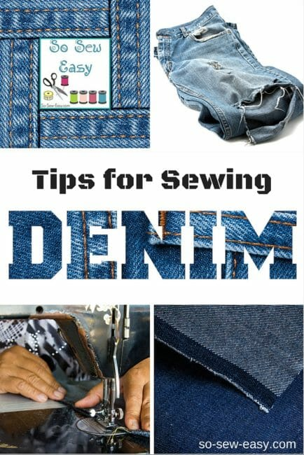 Tips For Sewing Denim: Easier Than You Think!