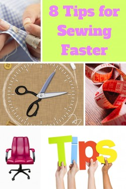 Tips for Sewing Faster