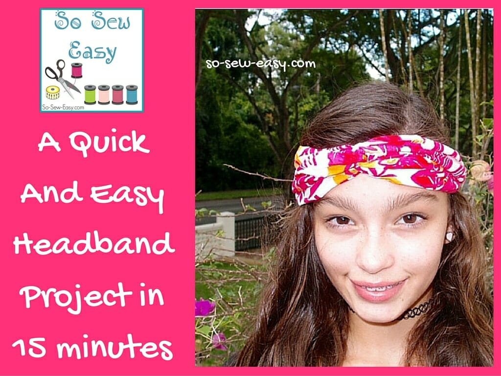 simple headband project