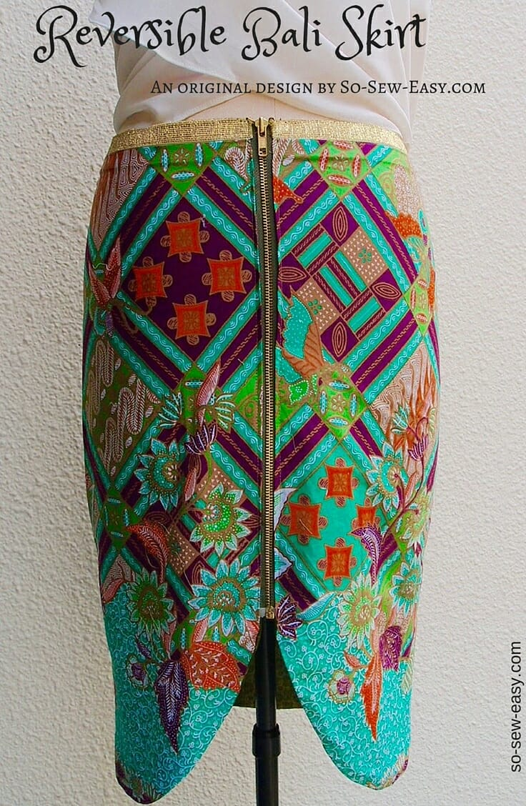 Reversible Bali Skirt