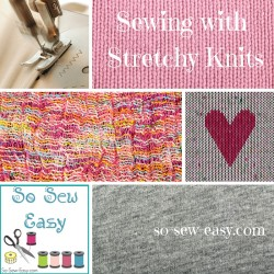 stretchy knits