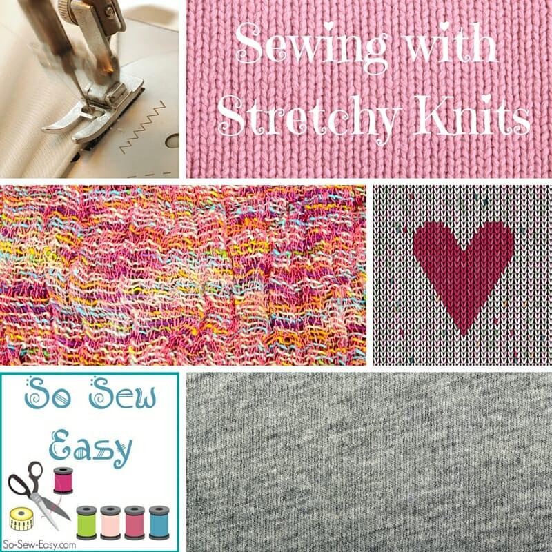 stretchy knits