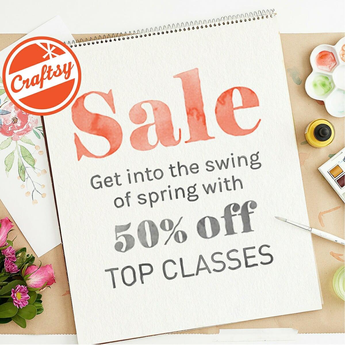 craftsy spring sale