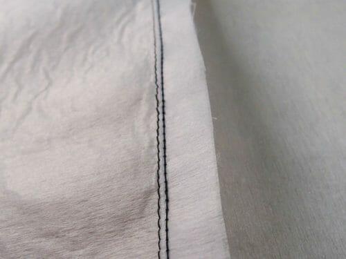 shirring without elstic thread