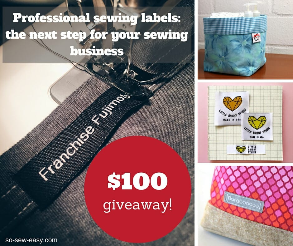 professional sewing labels