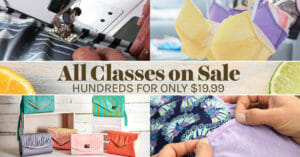 Craftsy Summer Sale