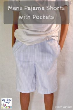 Mens Pajama Shorts