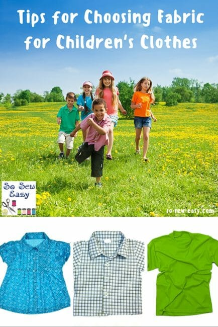 fabric for children's clothes