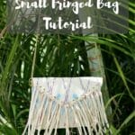 Small Fringed Bag