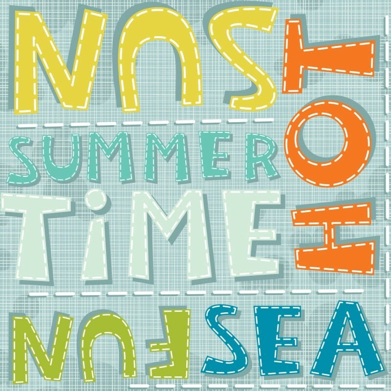 summertime sewing