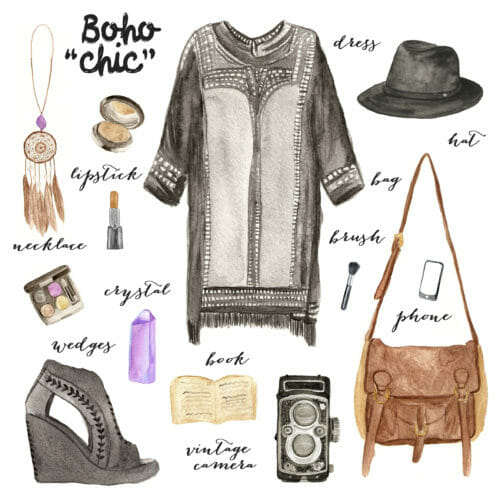 boho chic sewing