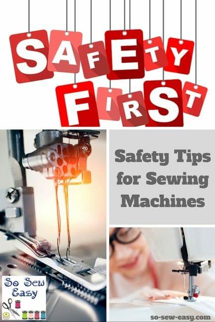 sewing machine safety
