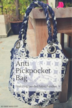 anti pickpocket bag