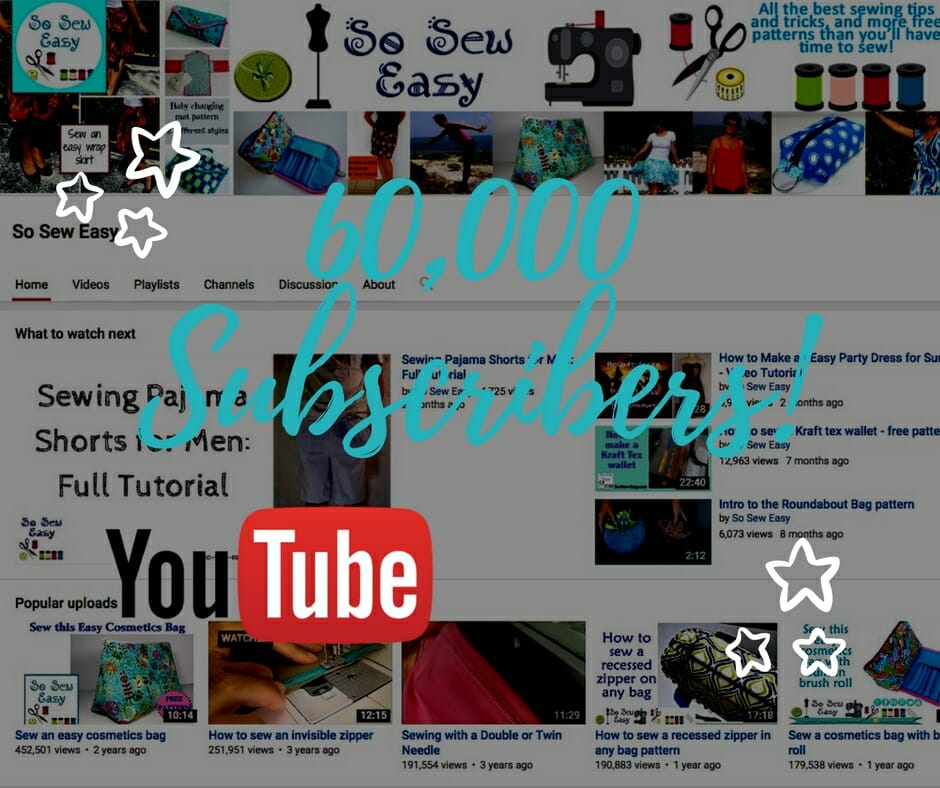 sewing videos on Youtube
