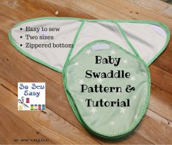baby swaddle pattern