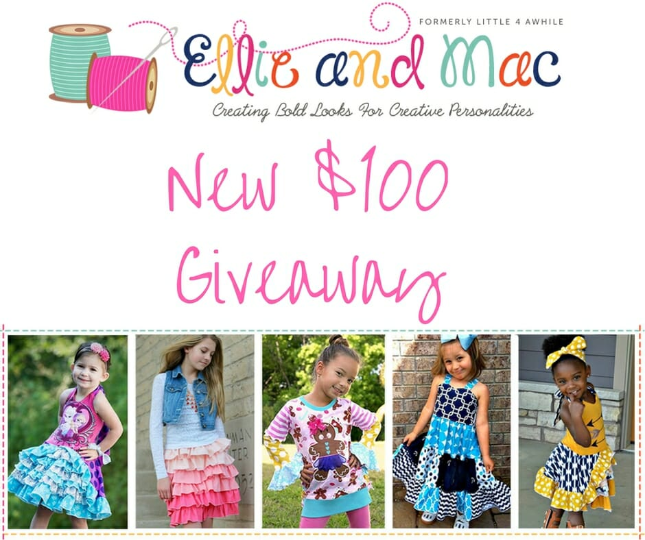 New $100 Gift Certificate Giveaway