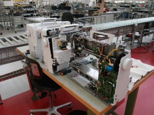 Bernina Sewing Machines factory tour