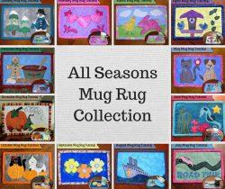 mug rug series