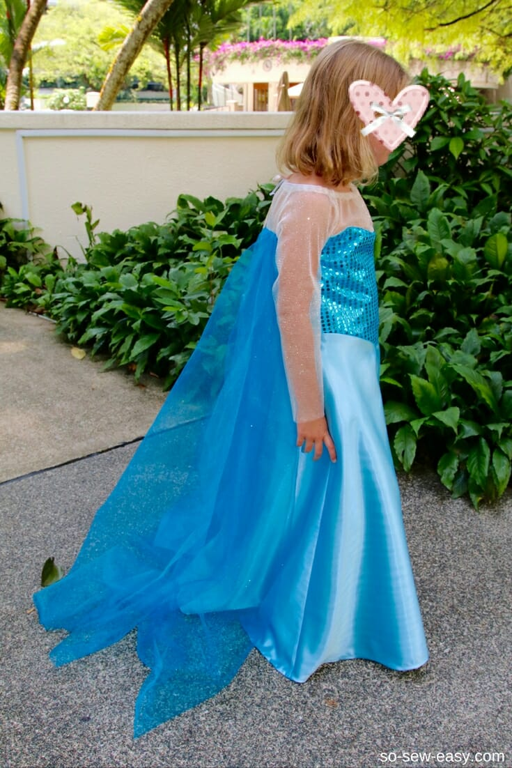 princess dress pattern