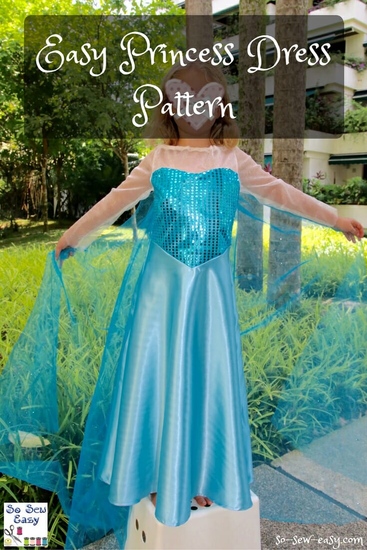 princess dress pattern