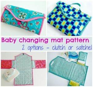 baby change mat pattern