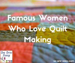 Love Quilt Making