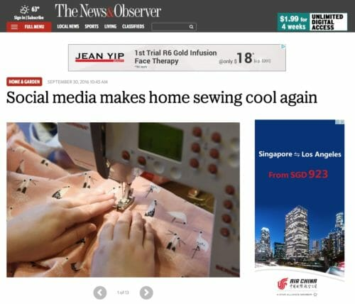 home sewing cool again