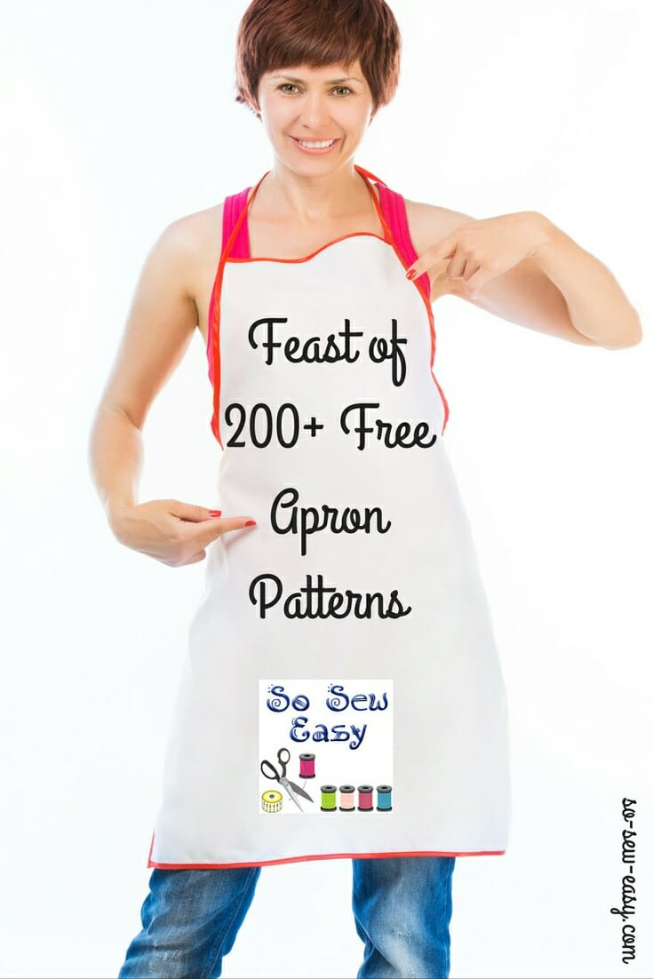 Easy Apron Pattern Interesting Design