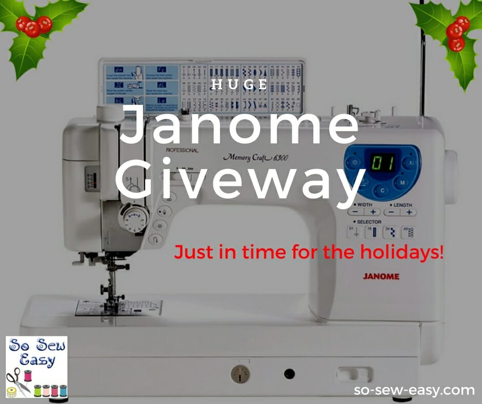 Janome Givaway