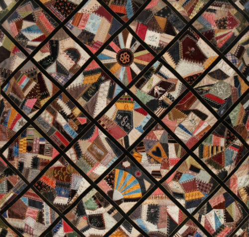 More Quilting History Passed On For Generations: Part 2 - So Sew Easy : history of crazy quilts - Adamdwight.com