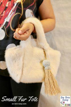 small fur tote