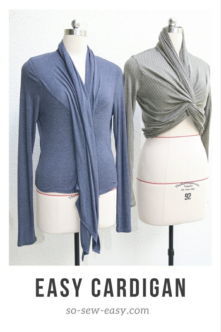 Transformable easy cardigan dressing in layers so sew easy easy cardigan jeuxipadfo Images